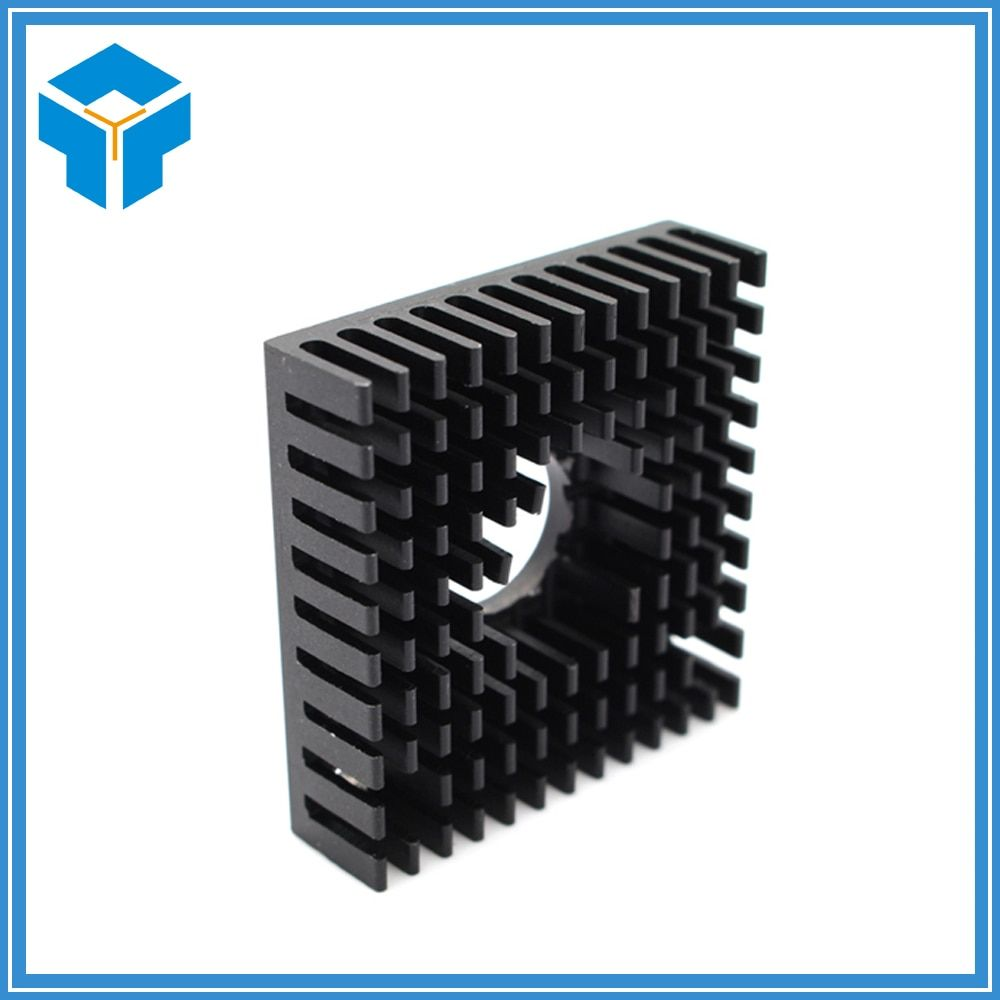 10Pcs/lot Makerbot 3D printer accessories fins 40 * 40 * 11 fast heat mk7MK8 extruder Universal