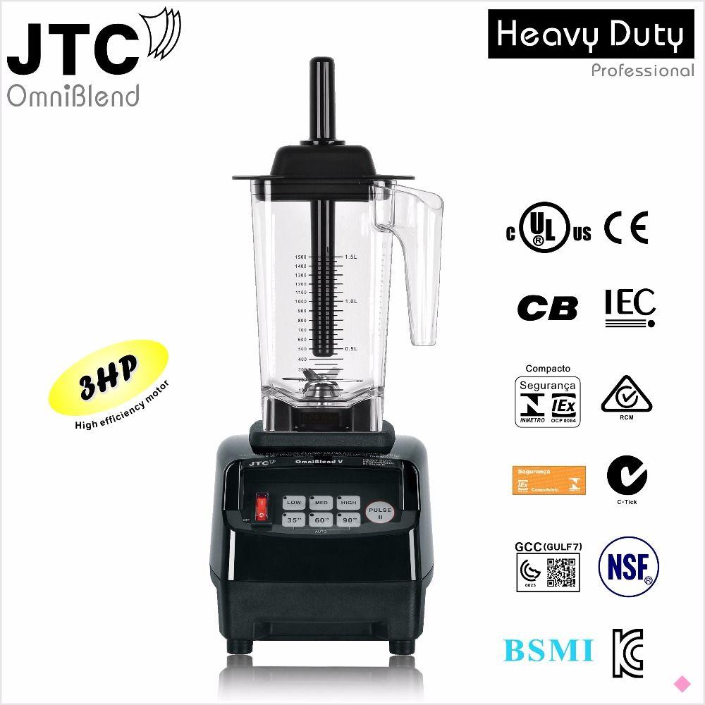 JTC Kommerziellen Mixer mit PC jar Küche helfer, Modell: TM-800A, Schwarz, 100% garantiert, KEINE. 1 qualität in der welt
