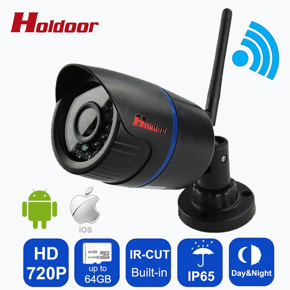 Waterproof IP65 Night Vision Mini HD <font><b>720P</b></font> IP Camera Wireless Wifi Bullet Camara IR Cut Onvif P2P Home Security Camara Outdoor