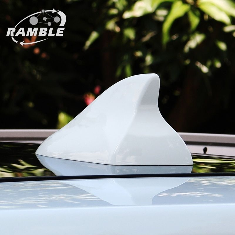 Ramble Brand For Nissan X Trail Qashqai Antenna Shark Fin Radio Aerial For X-trail Qashqai Refit Auto Roof Antena Advanced