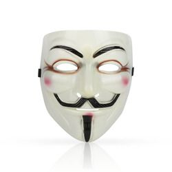1PC Hot Selling Party Masks V for Vendetta Mask Anonymous Guy Fawkes Fancy Dress Adult Costume Accessory Party Cosplay Masks