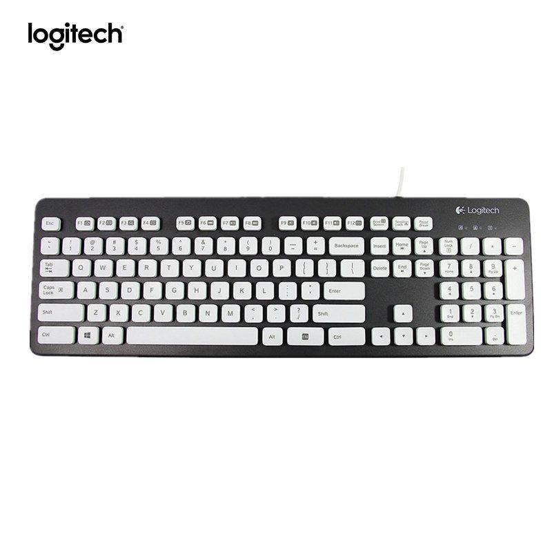 Logitech Clavier Lavable K310 pour Pc-Noir