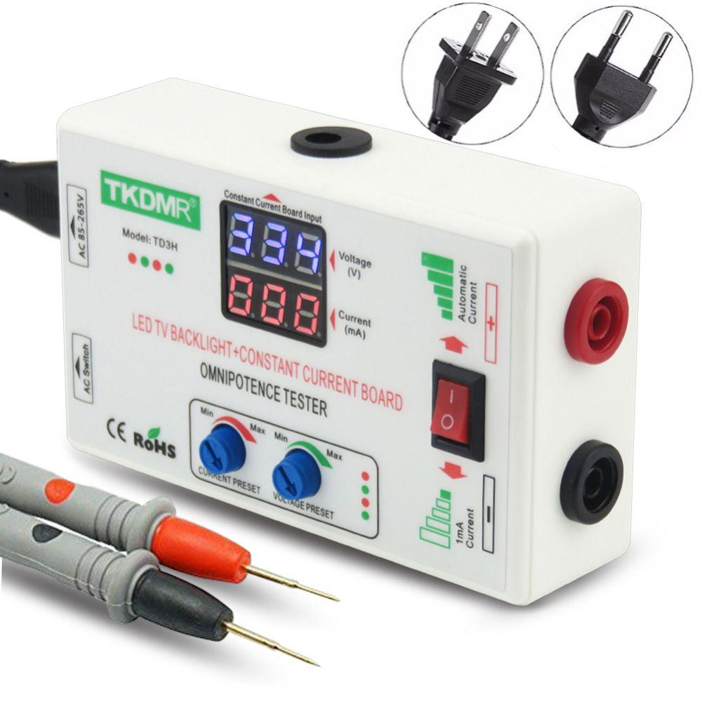 TKDMR 0-330 V ajustement manuel intelligent tension tv LED rétro-éclairage testeur courant réglable courant Constant carte lampe à LED perle