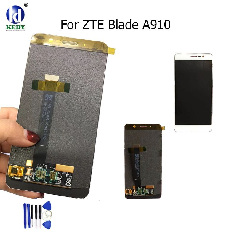 KEDY Compatible For 5.5 inch ZTE Blade A910  BA910 TDLTE LCD Display With Touch Screen Digitizer Assembly Replacement Free Tool