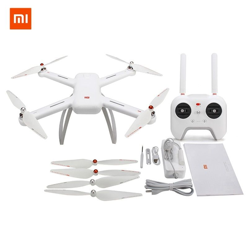 In Stock Original Xiaomi Mi Drone WIFI FPV Quadcopter With 1080P 4K Version 30fps HD Camera 3-Axis Gimbal GPS App RC Drone RTF