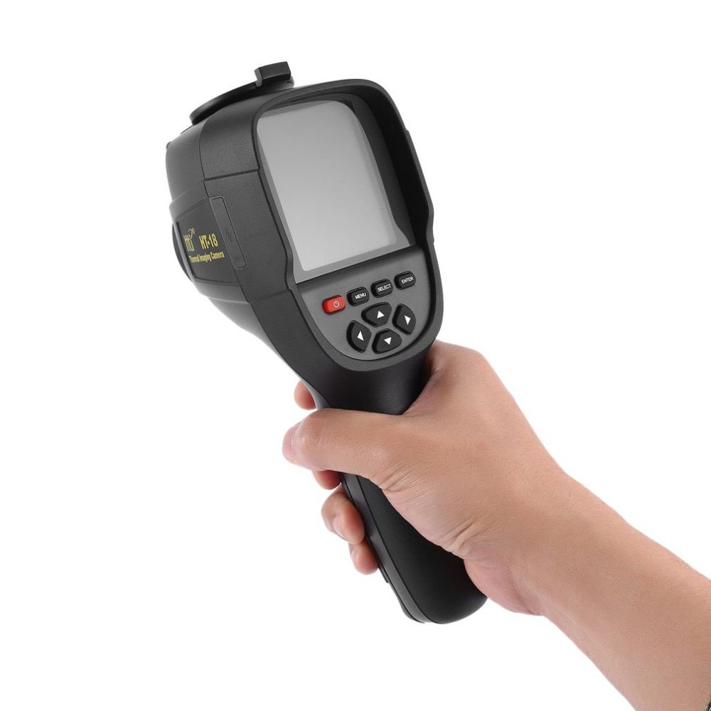 HT-18 3.2inch Infrared Temperaturer IR Digital Thermal Imager 220x160 Resolution -20~300 Degree Infrared Camera with storage