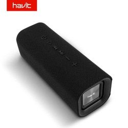 HAVIT Portable Bluetooth Speaker Outdoor Subwoofer 3D Stereo Loudspeaker Wireless Speaker with Microphone Mic SD card AUX M16