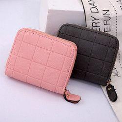 2019 новые женские Модные кошелек визитница Для женщин маленький кошелек на молнии клатч портмоне женский сумка Portefeuille F