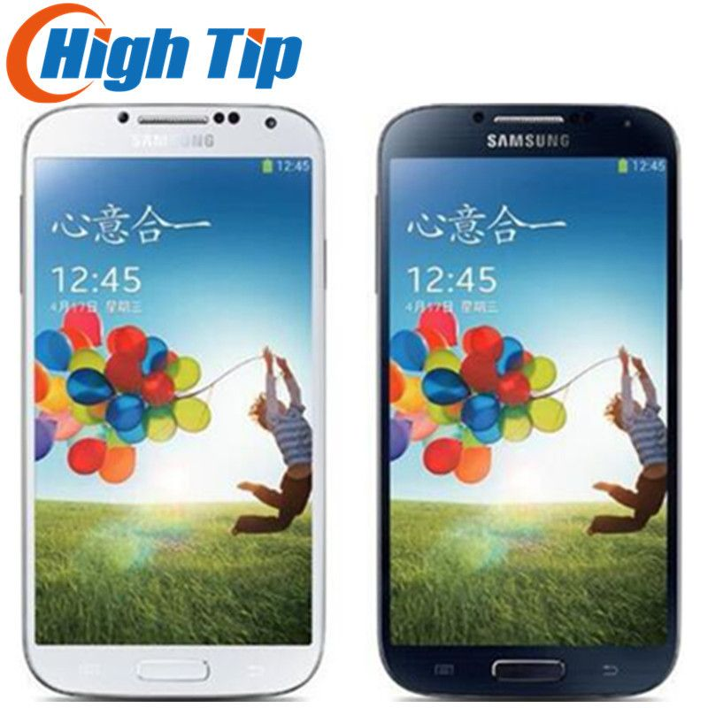 <font><b>Unlocked</b></font> Original Samsung Galaxy S4 i9500 i9505 Mobile Phone 13MP Camera 16GB ROM 5.0 inch 1920X1080 GPS Refurbished Cell Phone