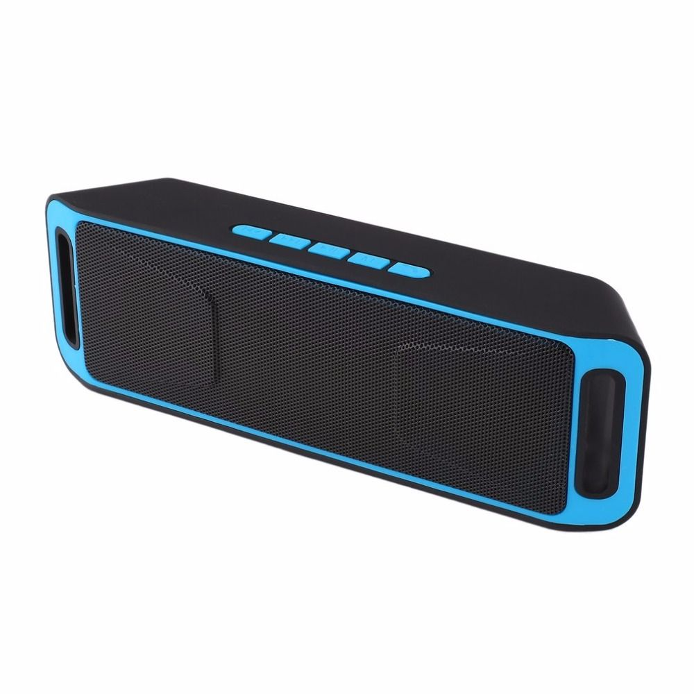Portable Wireless Bluetooth Speaker Stereo Subwoofer USB Speakers TF FM Radio Built-In Mic Sound Changer SC208