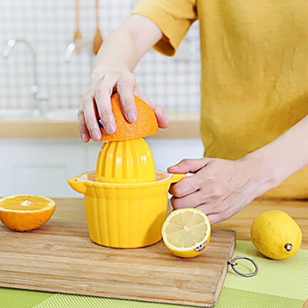 Double Head Manual Drink Orange Lemon Citrus Lime Fruit Juice Juicer Squeezer F324