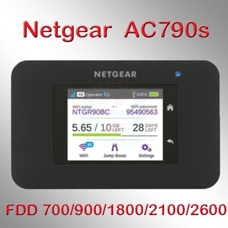 Débloqué netger AC790S cat6 300 mbps 4g wifi routeur dongle Sans Fil Aircard 790 s 4g LTE mobile Hotspot pk e5786 762 s 782 s 763 s
