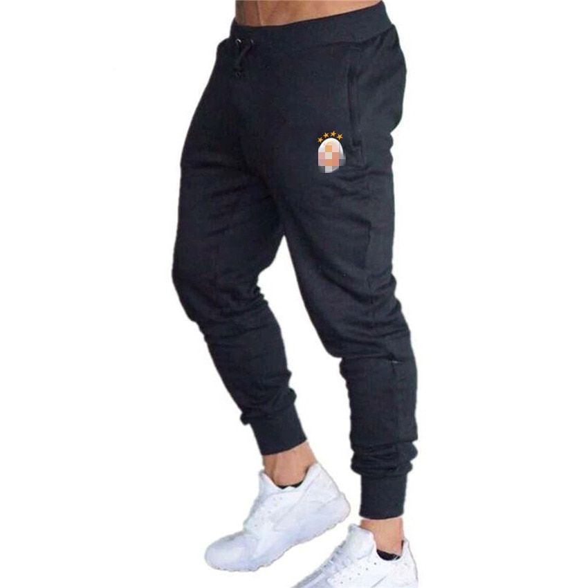95% Cotton Custom LOGO Mens Joggers Pants Men Sportswear Tracksuit Bottoms Skinny Sweatpants Trousers Gyms Jogger Track Pants