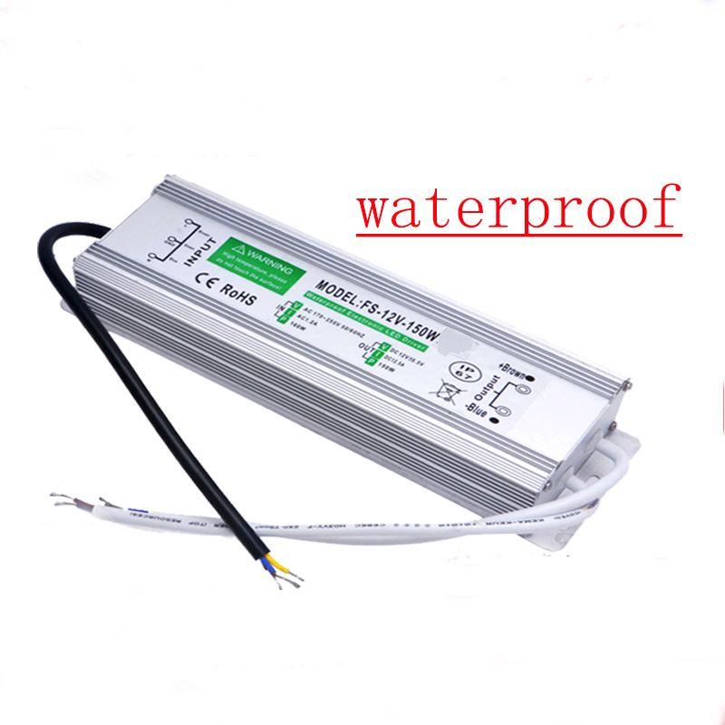 Led-treiber Transformator Netzteil AC110-260V zu DC12V/24 V 10 Watt-100 Watt Wasserdichte Elektronische outdoor IP67 für unterwasser
