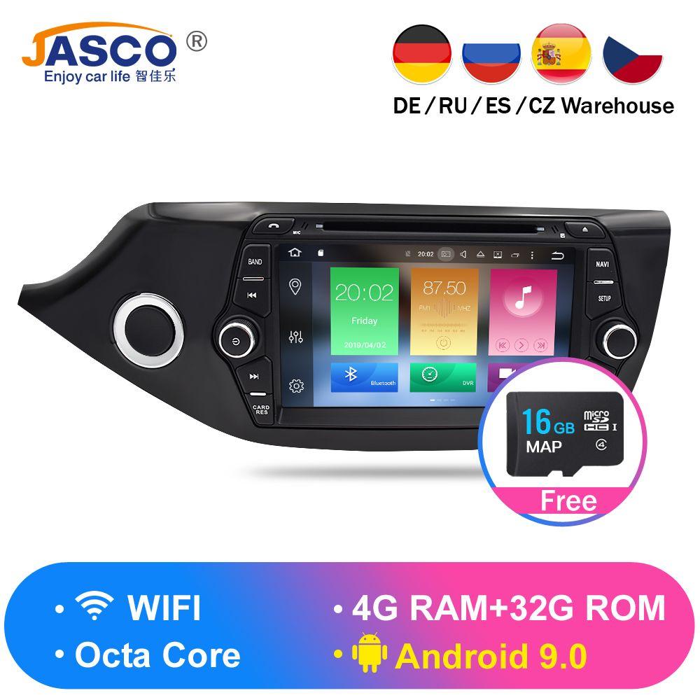 Android 9.0 8,0 Auto DVD Player GPS Glonass Navigation Multimedia für Kia Ceed 2013 2014 2015 Auto RDS Radio Audio Video stereo