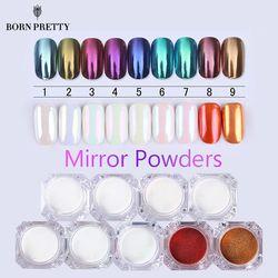 NÉS JOLIE Miroir Nail Glitter Pigment Poudre 1g Or Bleu Violet Poussière Manucure Nail Art Glitter Chrome Poudre Décorations