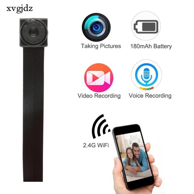 WIFI 720P HD Mini Camera DVR DIY Module IP Cam Motion Detection Camera P2P HD Camera Digital Video Recorder Security Camcorder