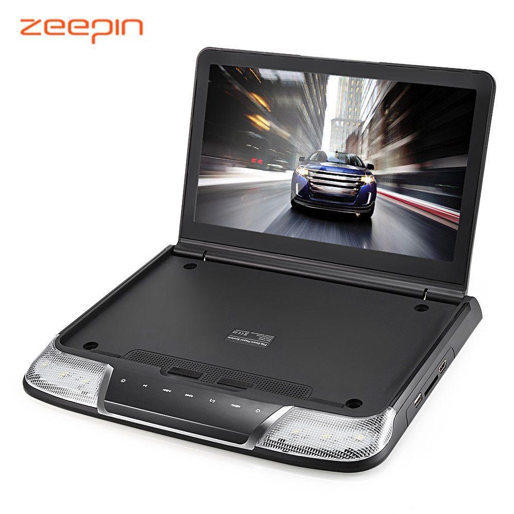 Zeepin os-1165m потолочный Автомобильный Мультимедийный Плеер 11.6 дюйма 1080 P USB ИК fm-передатчик встроенный Двойной купол светодиодные фонари монито...