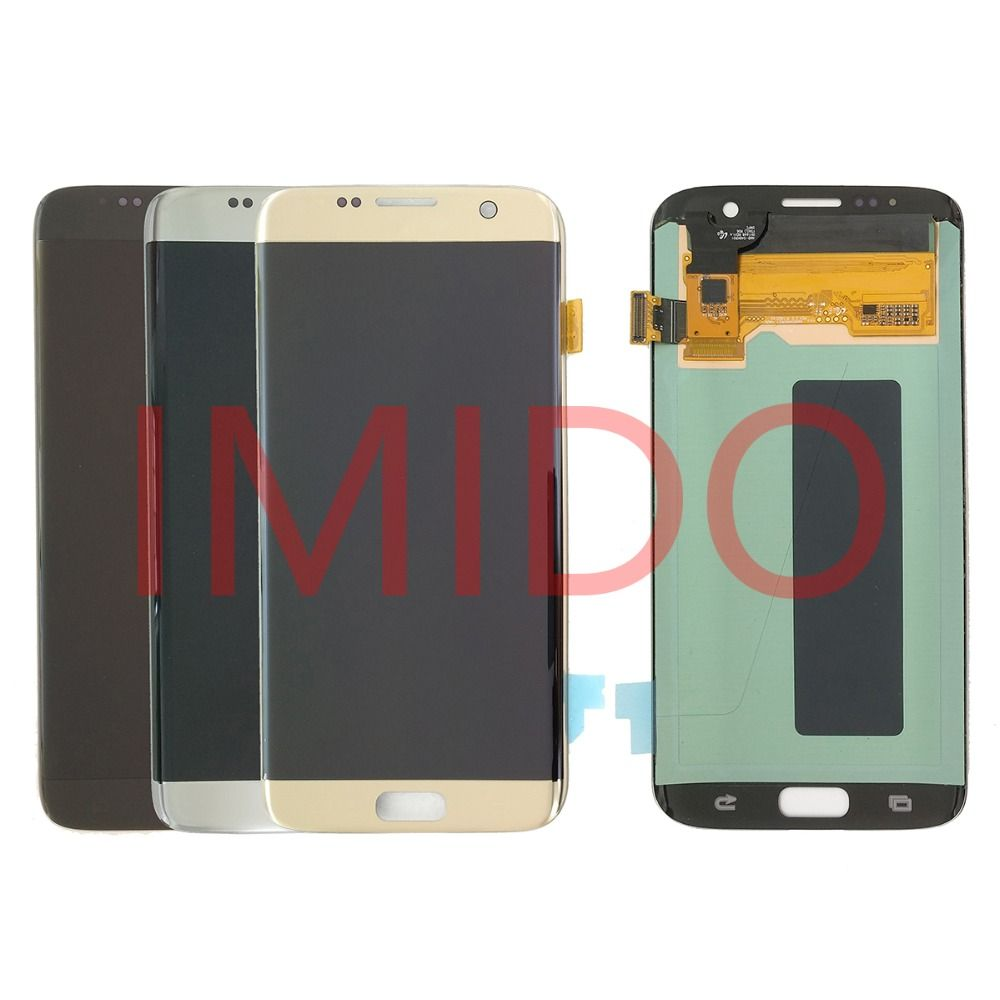 For Samsung Galaxy S7 EDGE G935 G935F Super AMOLED LCD Display+Touch Screen Digitizer Assembly Replacement Parts