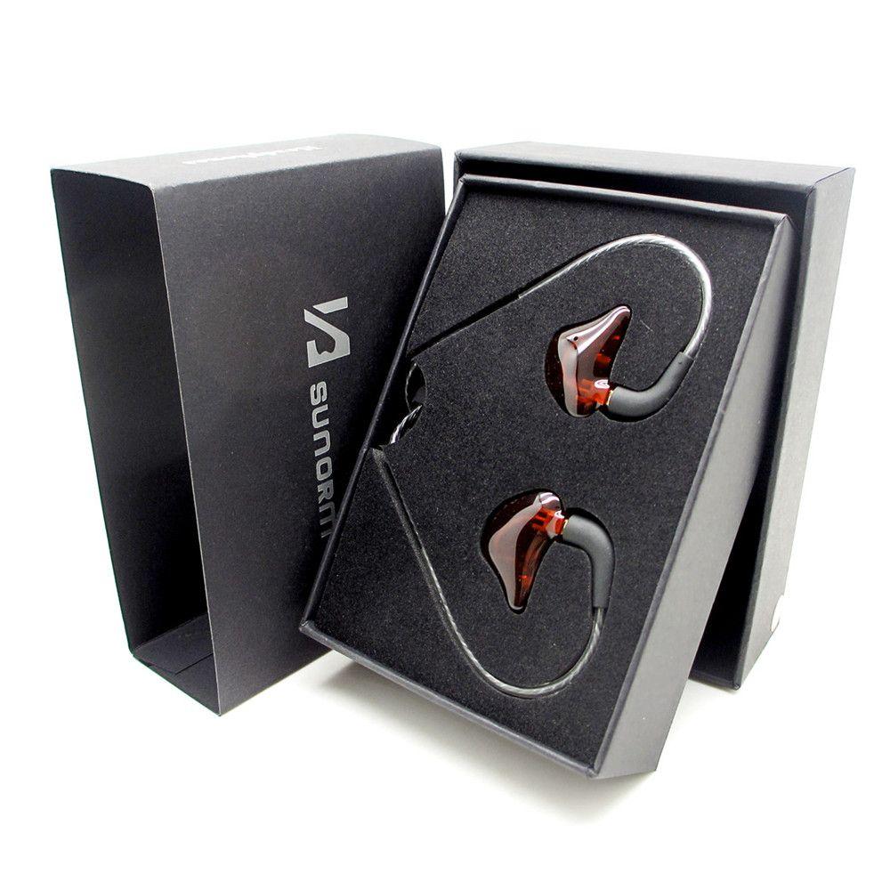 D'origine sunorm Écouteurs Stade moniteur écouteurs SE-950 HiFi Dans l'oreille sport à bobine mobile écouteurs À Isolation Sonore pour ipone