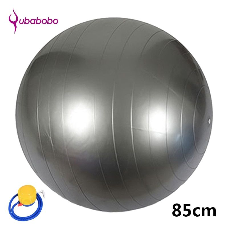 85CM PVC Unisex Yoga Balls for Fitness with 4 color female Pilates Balls gymnastic Balls High quality Balance Ball+Free Pump Air