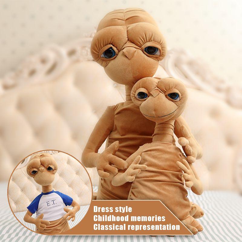 50 cm E.T Alienígenas La clásica película que rodea peluches Extrañas muñecas de la historieta de Los Niños el mejor regalo del Día de Navidad