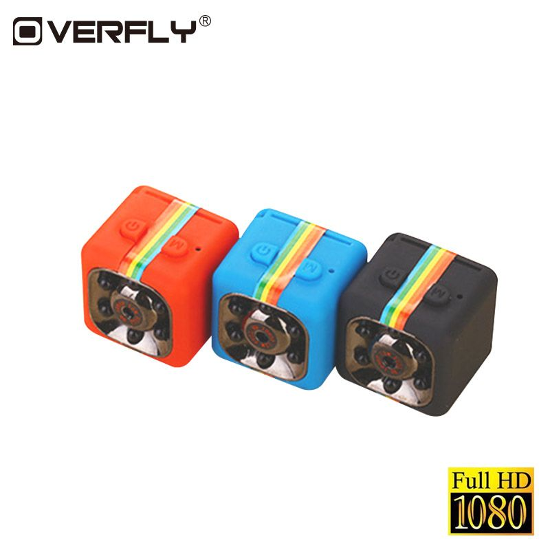 Overfly Portable SQ11 HD 1080P CMOS Sensor Night Vision Camcorder Mini Cameras Camera DVR DV Motion Recorder Camcorder