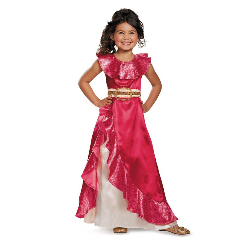 Vente Filles Nouveau Favori Latina Princesse Elena De TV Elena De Avalor Aventure Prochaine Enfant Halloween Costumes