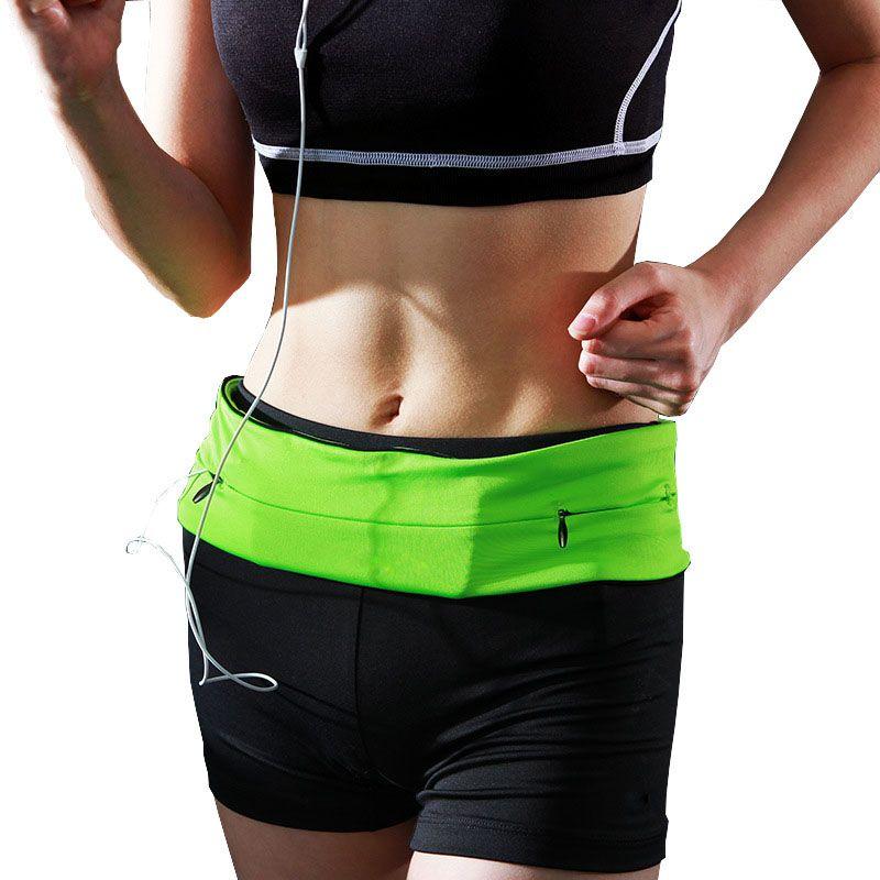 S/M/L/XL Running Waist Bag For Mobile Phone Women Men Sport Waist Pack Elastic Gym Running Waist Belt Running Accessories