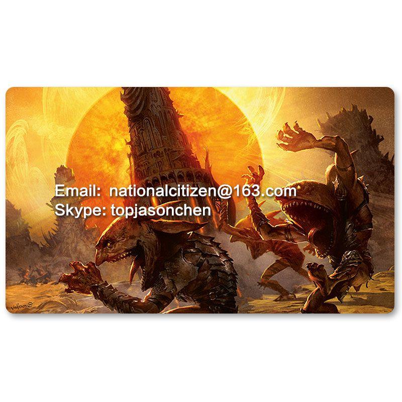 Многие играют Коврики выбор-красный Защита от солнца Зенит-MTG Настольная игра Коврики Таблица Коврики для волшебный Мышь Коврики в сбор 60x35 ...