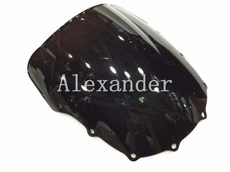 For Kawasaki ZZR400 ZZR600 ZZR 400 ZZR 600 1993-2007 1999 2000 2001 2002 2003 2004 2005 2006 1996 95 black Windshield WindScreen