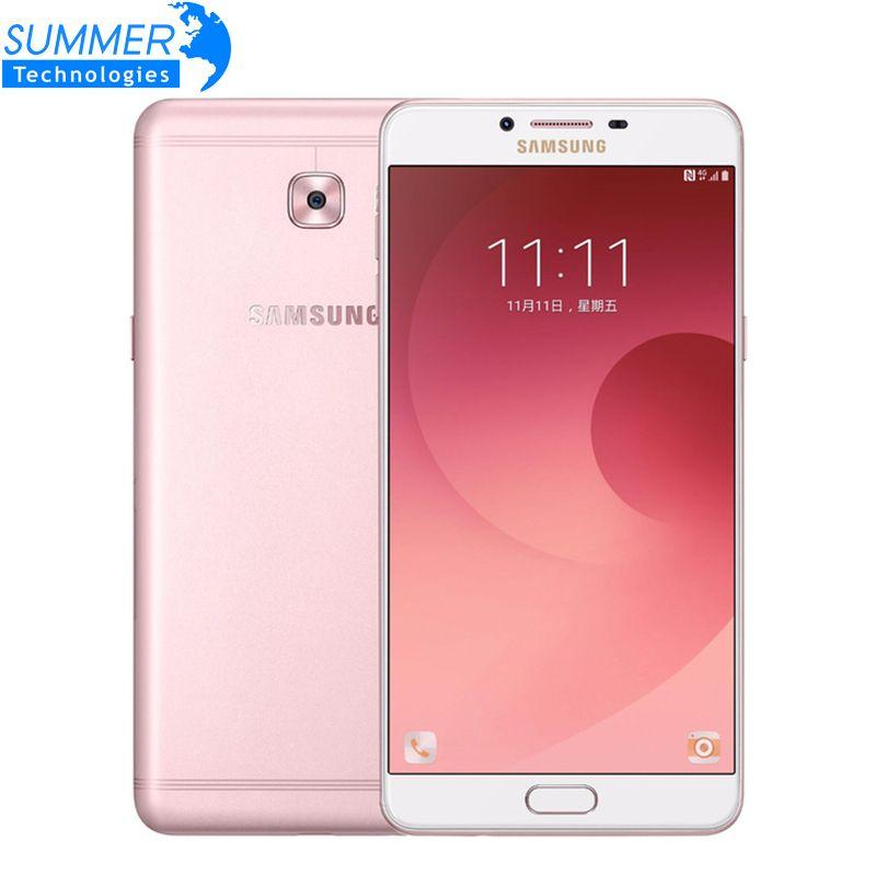 Original Samsung Galaxy C9 Pro C9000 Mobile Phone Android 6.0 6'' 16MP Octa core Dual SIM 6GB RAM 64GB ROM Smartphone
