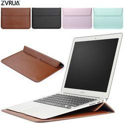 PU Kulit Mail Sack Tas Lengan Case untuk Macbook Udara Pro Retina 11 12 13 15 Notebook Laptop Cover untuk Mac Book 13.3 Inch