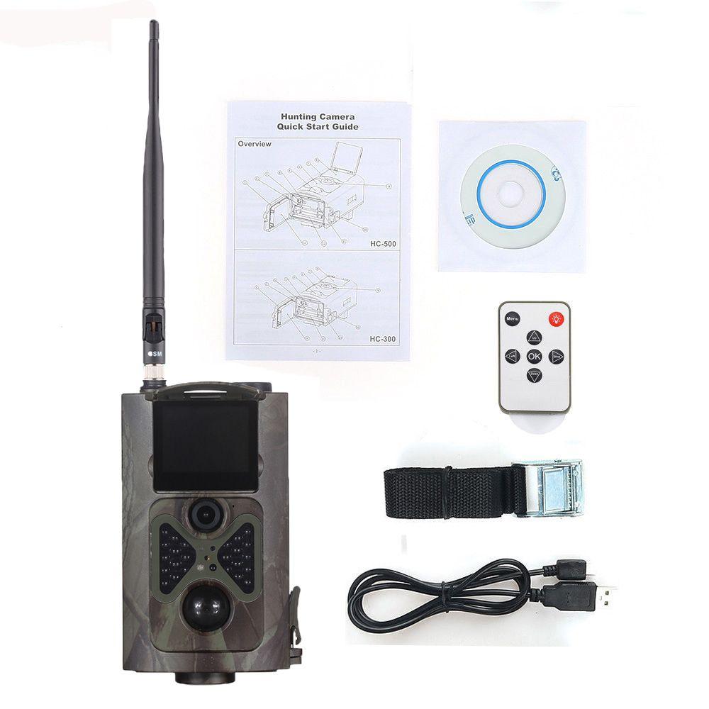 HC-550G Jagd Trail Kamera 3G HD 16MP 1080 P Video Nachtsicht MMS GPRS Scouting Infrarot Spiel Hunter Cam
