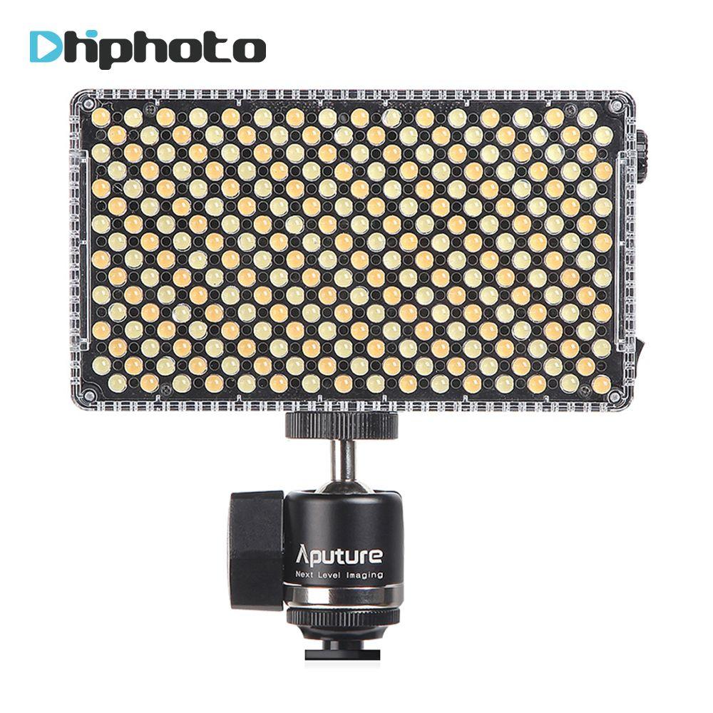 Aputure Amaran AL-F7 On-Camera LED Video light Bi-Color Temperature 3200-9500K CRI/TLCI 95+ Led Panel Most Versatile