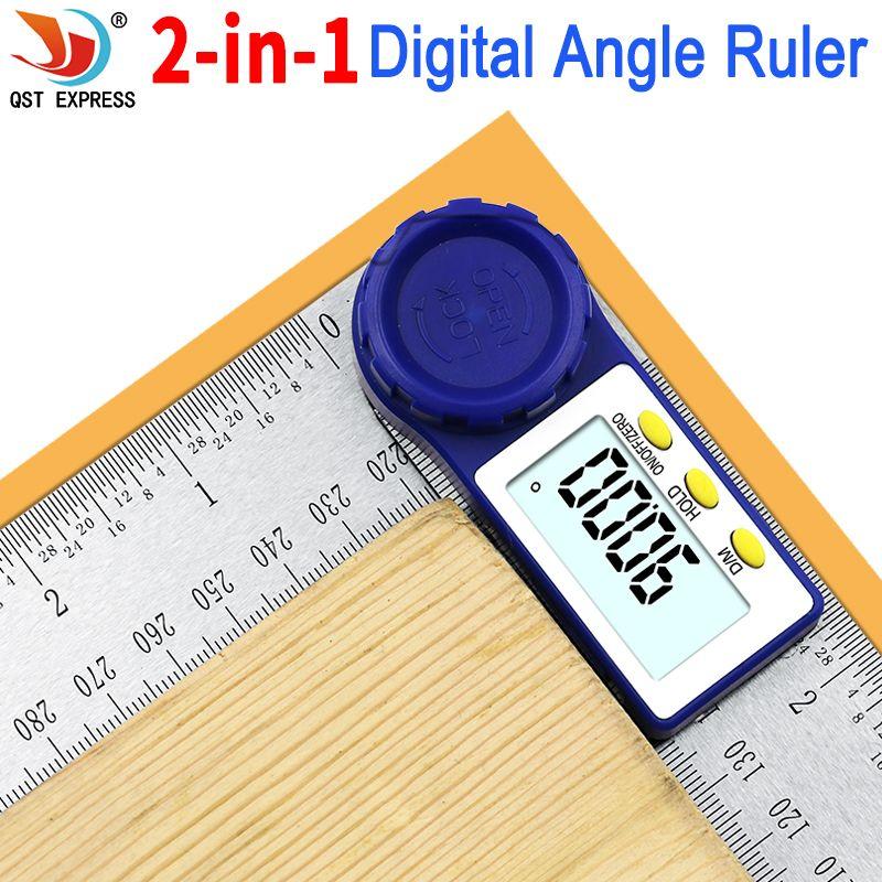 0-200mm 8 ''numérique mètre Angle inclinomètre Angle numérique règle électronique goniomètre rapporteur Angle finder outil de mesure