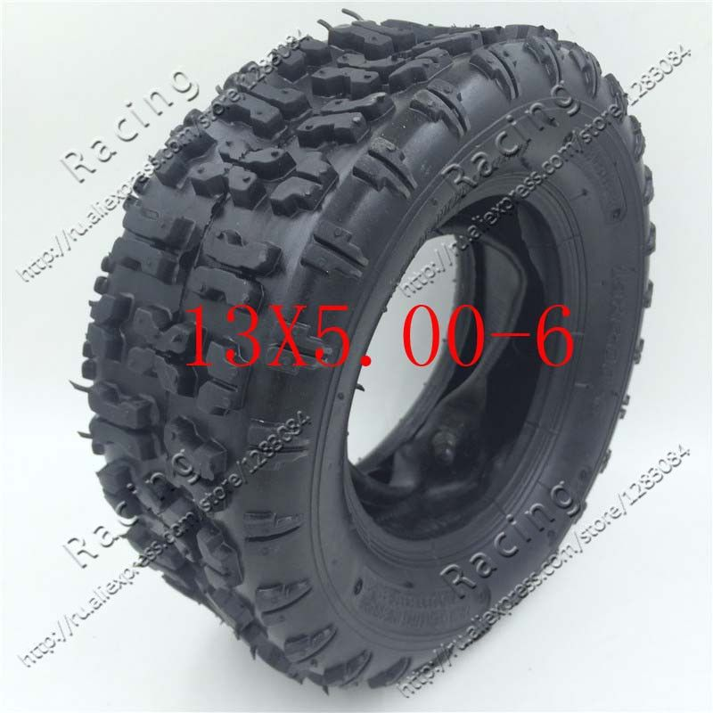 13X5.00-6 inch tire snow plow tires butterfly flower tires 13 * 5.00-6 inch beach tires