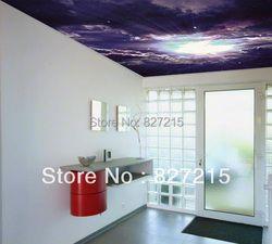U-4126 Универсальный принт натяжной потолок фильм фантастический космический подходит для отделки стен