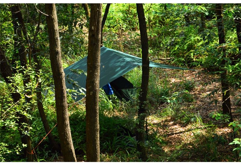 3F ul Gear 510g 3*3 meters 15d nylon silicone coating high quality outdoor caming tent tarp Ultralight sun shelter awning