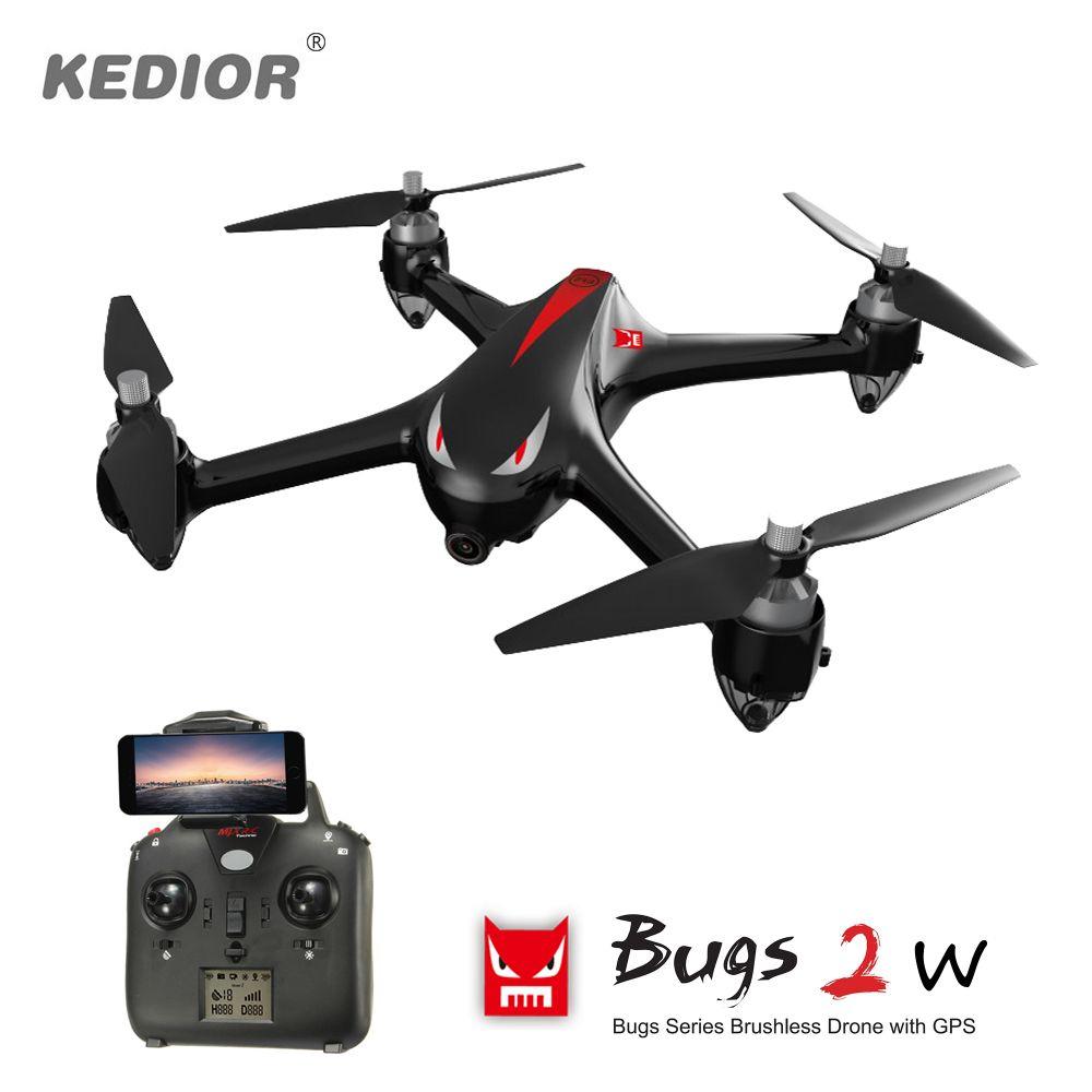 Professionelle Quadrocopter mit Kamera WiFi 1080 P Brushless Drone RC Eders mit GPS 1 km Fernbedienung Quadcopter Automatischer Start