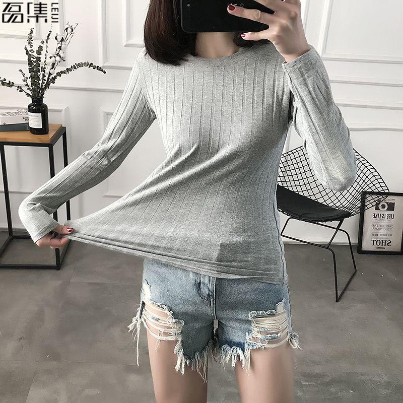 2019 pullover Frauen Pullover plus größe Turtlenec Grundlegende Baumwolle Rippen Tops Langarm Weibliche 100kg