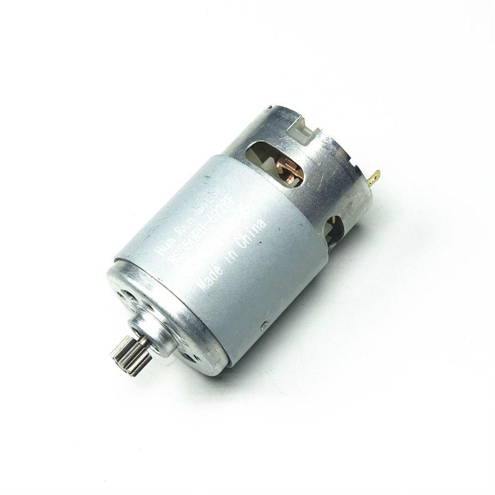 RS550 Motor 17 14 12 Teeth 9 Teeth 7.2 9.6 10.8V 12V 14.4V 16.8V 18V 21V 25V Gear 3mmShaft For Cordless Charge Drill Screwdriver