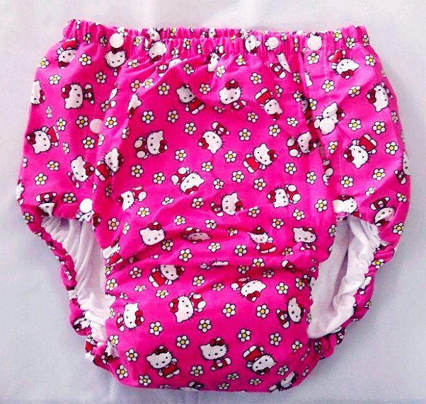 Envío libre FUUBUU2042-KT adultos Bebé Pantalones de plástico del pañal para bebés adultos bebé mameluco bebé pañales para adultos abdl