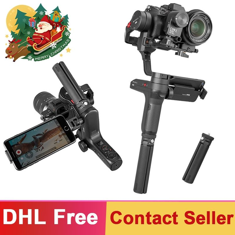 Zhiyun Weebill Lab 3-Axis Brushless Handheld Gimbal 3kgPayload Stabilizer for DSLR Mirrorless Camera Estabilizar PK DJI Ronin S