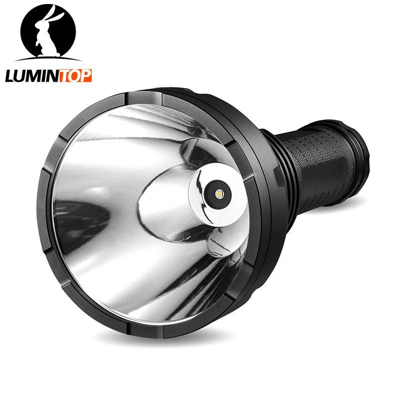 LUMINTOP Super Helle Suche Taschenlampe 2000 Lumen GT mit Cree XHP 35Hi LED Max 2000 Meter