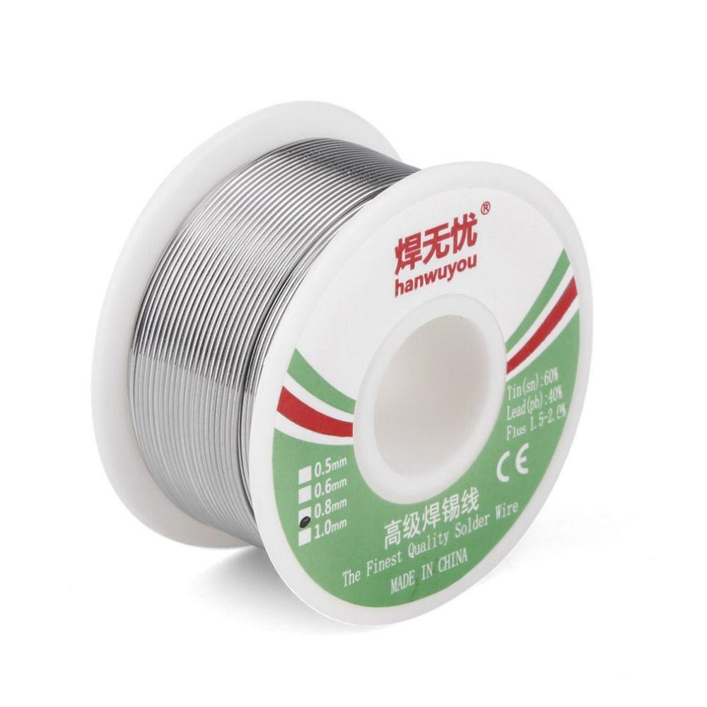 0,8mm 100g Löten Solder WireTin/Blei Durchmesser Kolophonium Rolle Zinn Harz-kern-flux Solder Löten Für Schweißer Eisendraht Reel