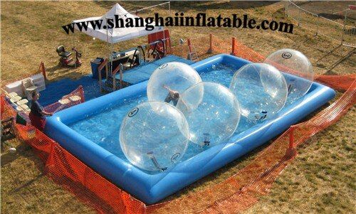 0.9mm PVC large pool outdoor inflatable swimming pool