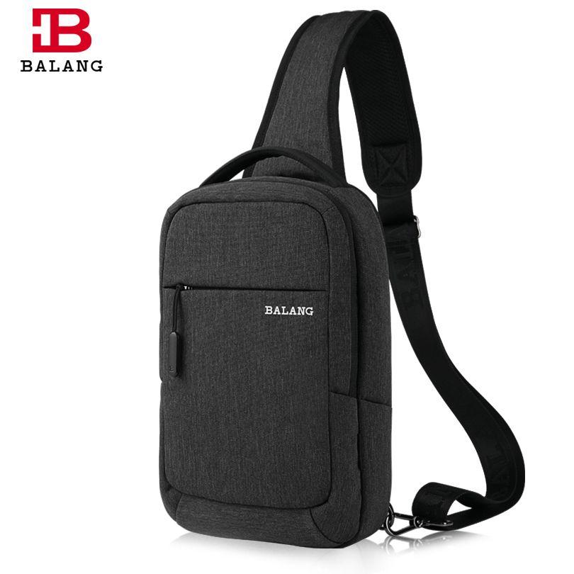 BALANG Famous Brand Men Women Single Sling Shoulder Strap Chest Pack Bag Travel Bag Shoulder Messenger Cross Body Bags for Ipad