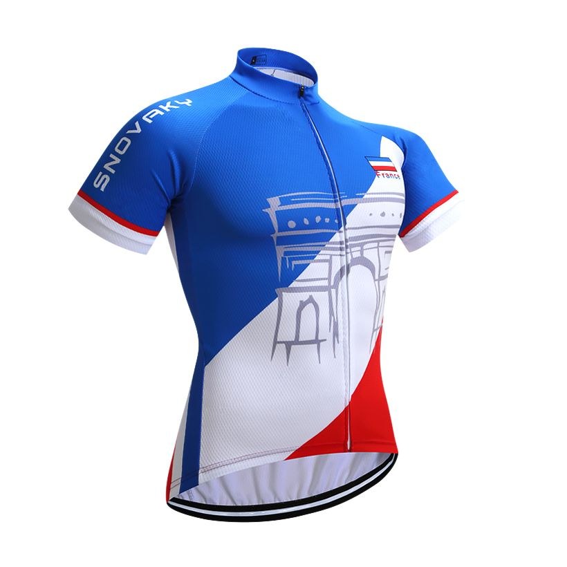 2018 Tour France team pro cycling jersey MTB Ropa Ciclismo mens women summer <font><b>bicycling</b></font> shirts Maillot bike wear
