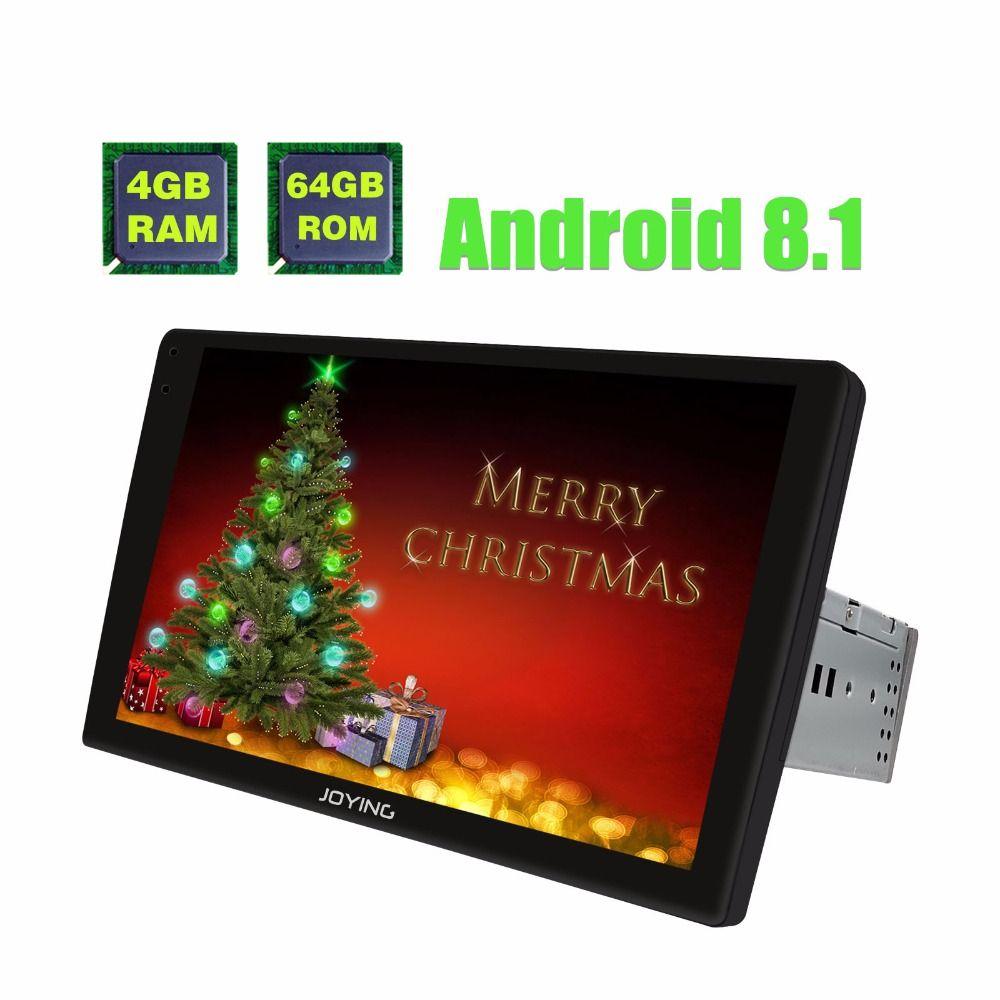 9 2.5D Gebogene Bildschirm Einzelne 1 Din Universal Android 8.1 Auto Radio Stereo Kopf Einheit Multimedia Player Mit Digital Verstärker
